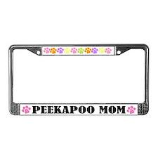 Peekapoo License Frame