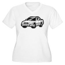 White / Silver T-Shirt