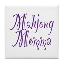 Mahjong Momma Tile Coaster