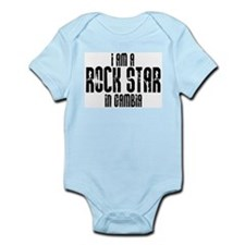 Rock Star In Gambia Infant Creeper