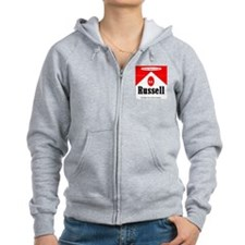 RD Russell Full Flavored Zip Hoody
