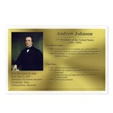 17: Andrew Johnson Postcards (8 Pack)