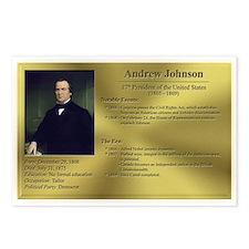 17: Andrew Johnson Postcards (8 Pack)