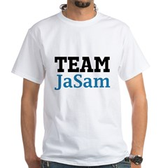 Team JaSam White T-Shirt