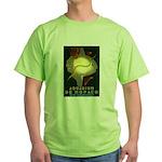 Aquarium De Monaco Fish Green T-Shirt