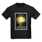 Aquarium De Monaco Fish Kids Dark T-Shirt
