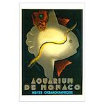 Aquarium De Monaco Fish Large Poster