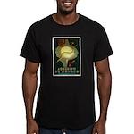 Aquarium De Monaco Fish Men's Fitted T-Shirt (dark
