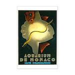 Aquarium De Monaco Fish Mini Poster Print