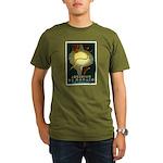 Aquarium De Monaco Fish Organic Men's T-Shirt (dar