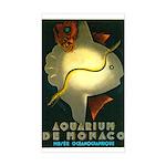 Aquarium De Monaco Fish Sticker (Rectangle)