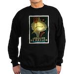 Aquarium De Monaco Fish Sweatshirt (dark)