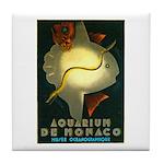 Aquarium De Monaco Fish Tile Coaster