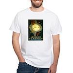 Aquarium De Monaco Fish White T-Shirt