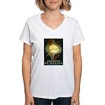 Aquarium De Monaco Fish Women's V-Neck T-Shirt