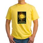 Aquarium De Monaco Fish Yellow T-Shirt