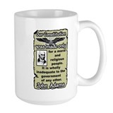 """Adams: Our Constitution"" Mug"