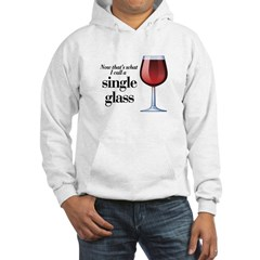 Single Glass Hooded Sweatshirt