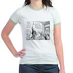 Humorous Political Science Jr. Ringer T-Shirt