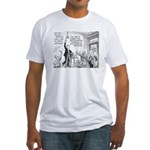 Humorous Political Science Fitted T-Shirt