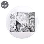 """Humorous Political Science 3.5"""" Button (10 pa"""