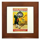 Vintage Great Western Railway Framed Tile