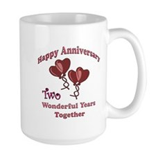 Cute 2nd anniversary Mug
