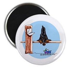 "Doberman Pinscher Lover 2.25"" Magnet (10 pack)"