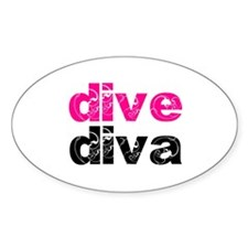 dive diva Decal