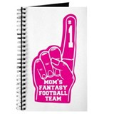 Mom's Fantasy Football Foam Finger Journal