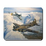B-17 Shack Rabbit Mousepad