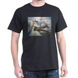 B-17 Shack Rabbit Black T-Shirt