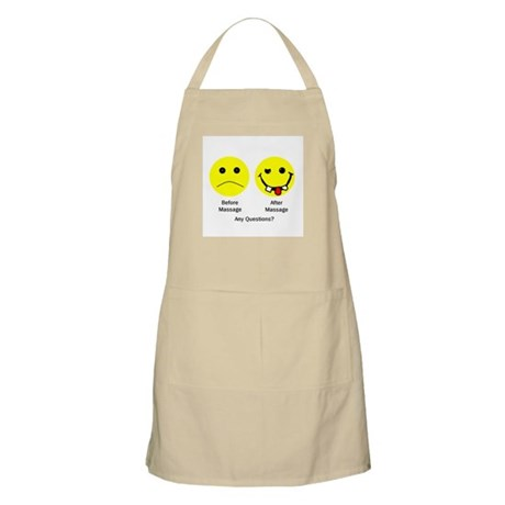Any Questions BBQ Apron