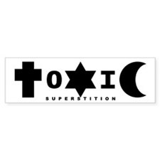 ToXiC Superstition Bumper Bumper Sticker