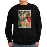 Vintage 1910 Antibes Italy Travel Sweatshirt