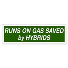 Runs On Gas Saved by Hybrids