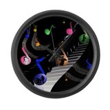 Universal Music Large Wall Clock