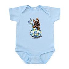 Baby German Shepherd Infant Bodysuit