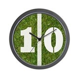 10 Yard Football Wall Clock