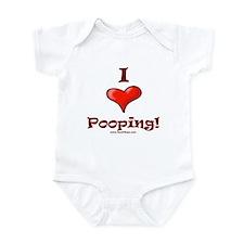 I Love Pooping Infant Bodysuit