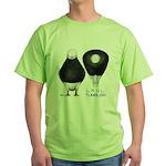 Tumbler Baldhead Pigeon Green T-Shirt