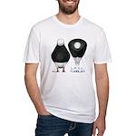 Tumbler Baldhead Pigeon Fitted T-Shirt