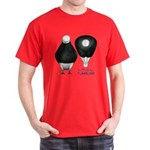 Tumbler Baldhead Pigeon Dark T-Shirt