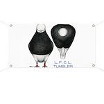 Tumbler Baldhead Pigeon Banner