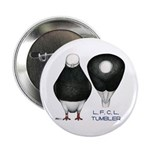 "Tumbler Baldhead Pigeon 2.25"" Button (10 pack"
