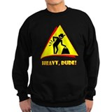 BACK WARNING Apparel Sweatshirt