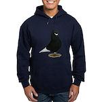 Tumbler Beard Pigeon Hoodie (dark)