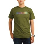 ASLstuff Logo Organic Men's T-Shirt (dark)