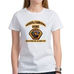 Needles California Police Women's T-Shirt