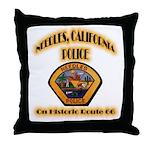 Needles California Police Throw Pillow
